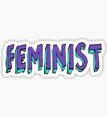 Feminist Sticker