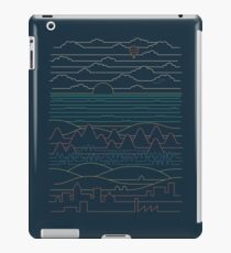 Linear Landscape iPad Case/Skin