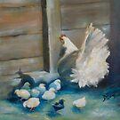 Baby Chicks by Jenny Hambleton