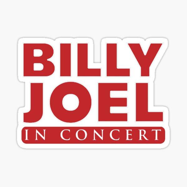 billy red amphitheater joel tour 2020 nekat8 Sticker