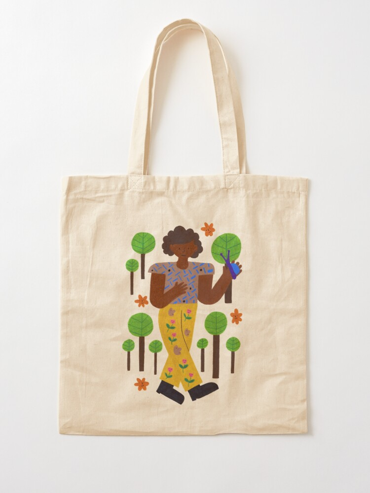 Alternate view of Strollin' Through The Trees Tote Bag