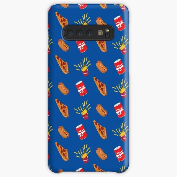 Fast Food Drive Thru Fries Pizza Hot Dog Soda Pattern Samsung Galaxy Snap Case