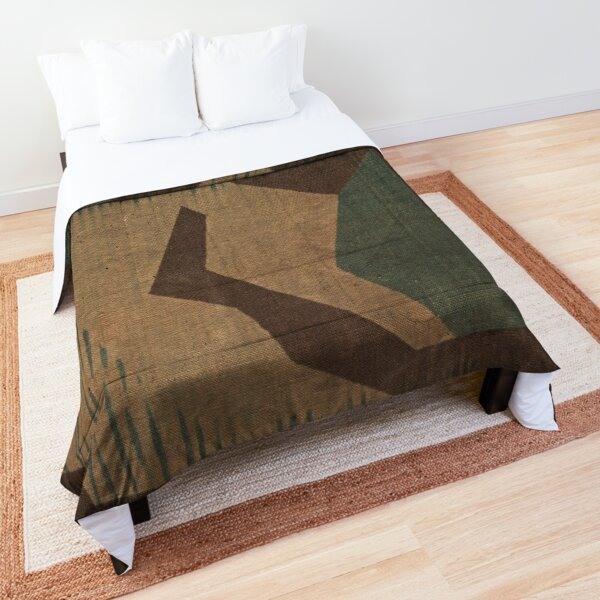 Splintertarn German ww2 camouflage (Version 2)  Comforter