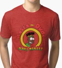 Rasta - Dude Bart Marley Tri-blend T-Shirt