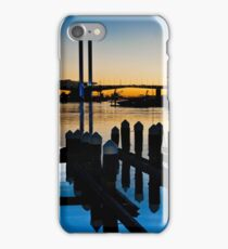 0784 Docklands at Dusk iPhone Case/Skin