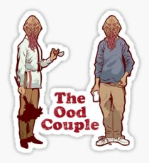 The Ood Couple Sticker