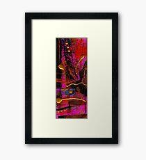 Magenta Joy Framed Print