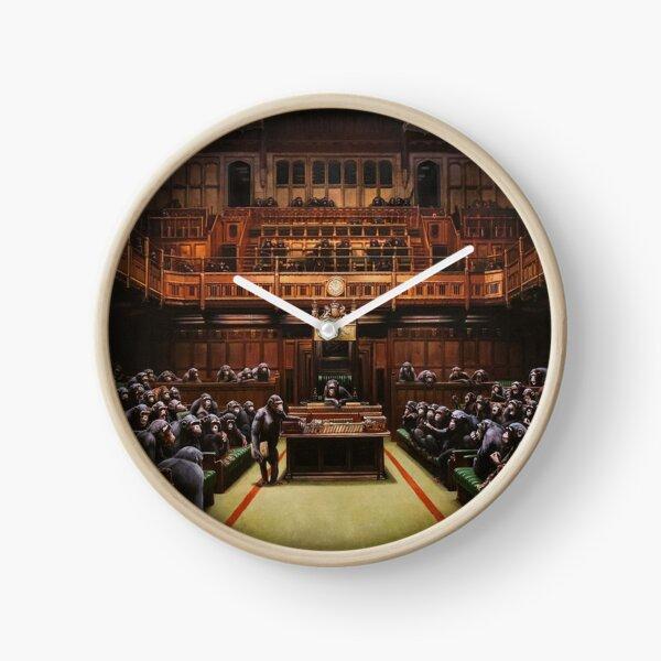 Banksy Devolved Parliament. Banksy Art Clock