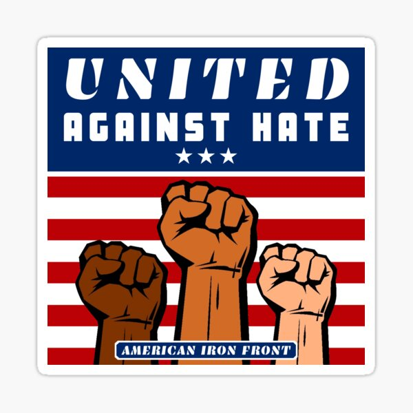 United Against Hate Sticker