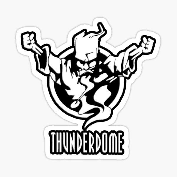 Thunderdome Pegatina
