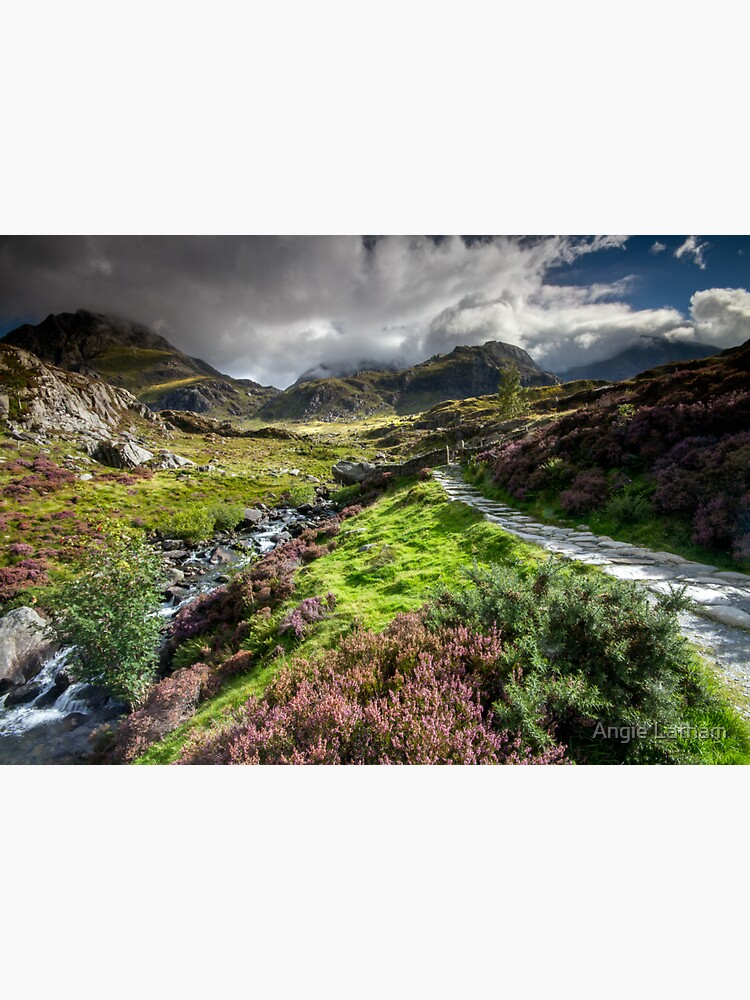 Snowdonia - Path to Tryfan and Glyder Fach by AngelaBarnett