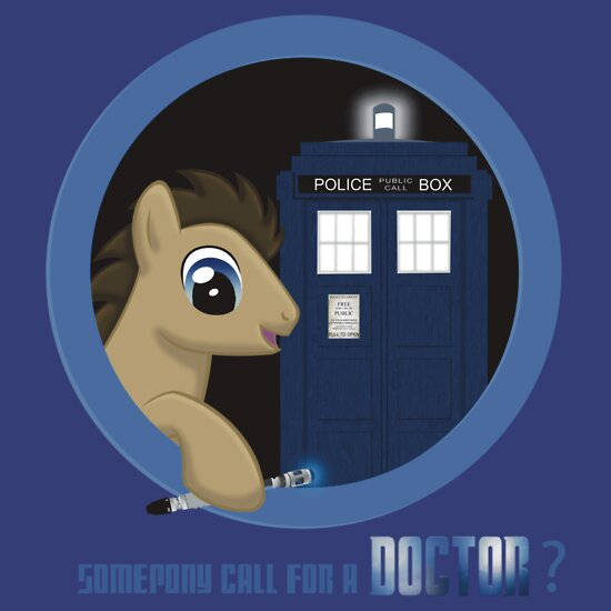 TShirtGifter presents: Doctor Whooves