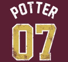Harry Potter - Quidditch Shirt (Dirty)