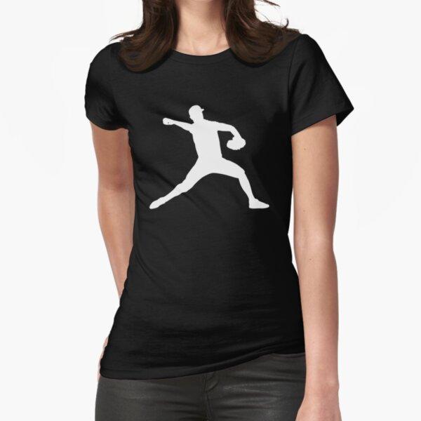 Baseball Schlagball Softball Spieler Geschenk Tailliertes T-Shirt