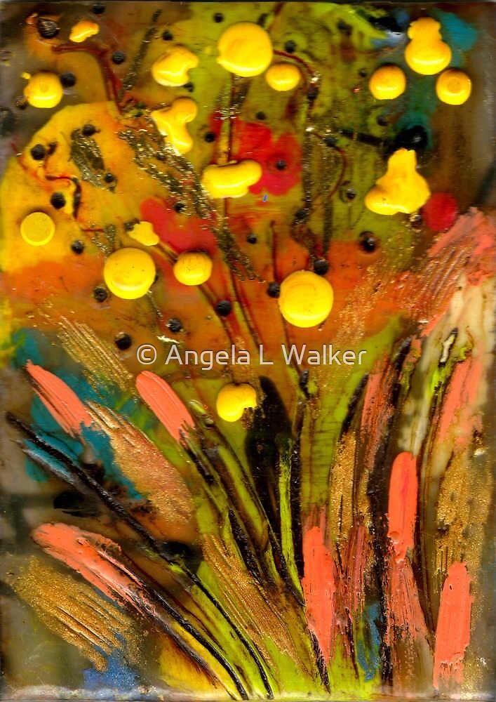 Yellow buds Abound by © Angela L Walker