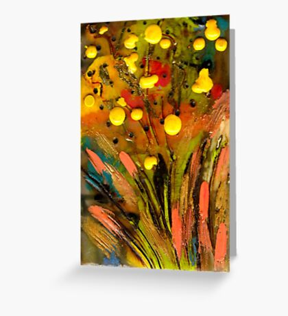 Yellow buds Abound Greeting Card