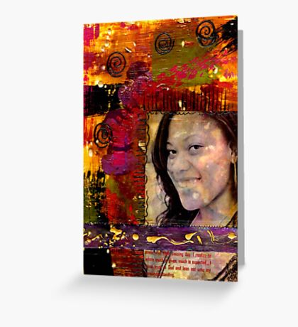 I Like Color, Don't You? Greeting Card