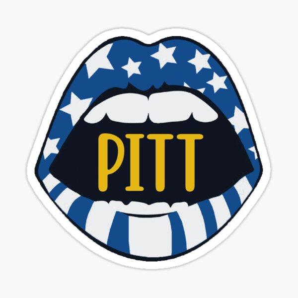 Pitt Open Mouth Sticker