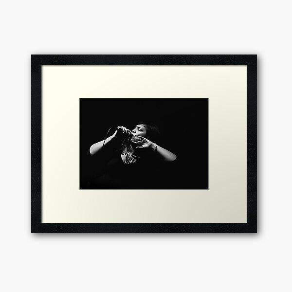 The Jazz Singer Framed Art Print