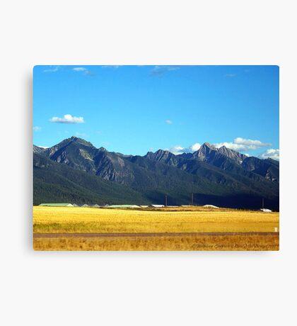 Mission Mountains 3 Canvas Print