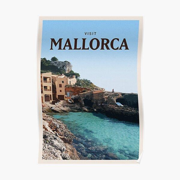 Besuchen Sie Mallorca Poster