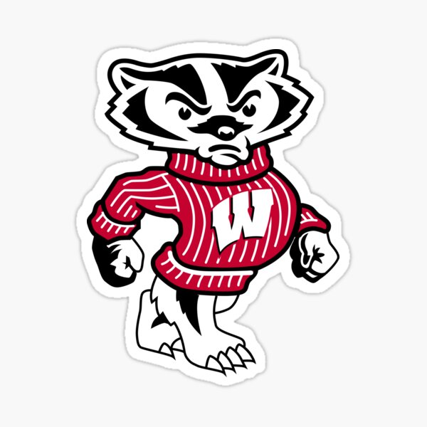 University of Wisconsin Badgers Bucky Badger Sticker