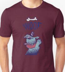Woof Top Hat Dog T-Shirt