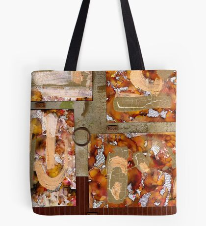 Faith-Hope-Love Tote Bag