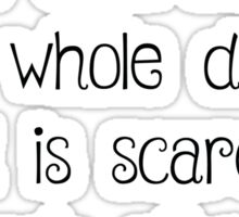 Of Mice and Men Quote Sticker