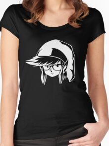 The Wayfarer - Commemorating Zelda and Hipsters Women's Fitted Scoop T-Shirt