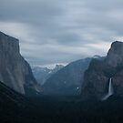 Yosemite tunnel view by s2kologist