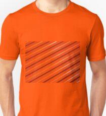 Orange metal corrugated sheet metal T-Shirt
