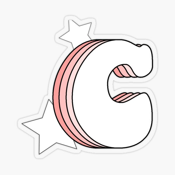 letter c stickers redbubble