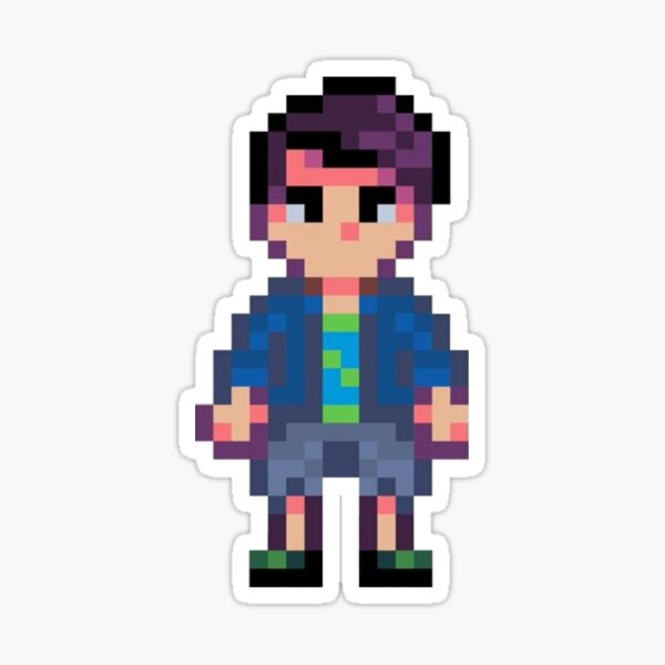 Stardew Valley - Shane Full Body Version 1 Sticker