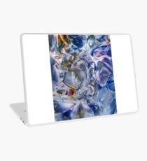 Morphic fields of the mysterious mind Laptop Skin