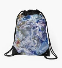 Morphic fields of the mysterious mind Drawstring Bag