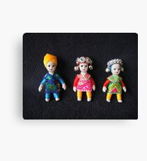 China Dolls Canvas Print