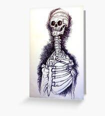 Lovely Bones Greeting Card