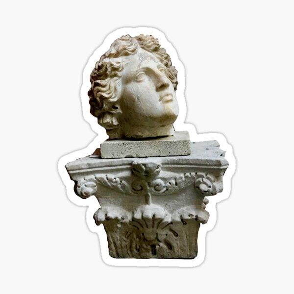 Grecian Bust Sticker