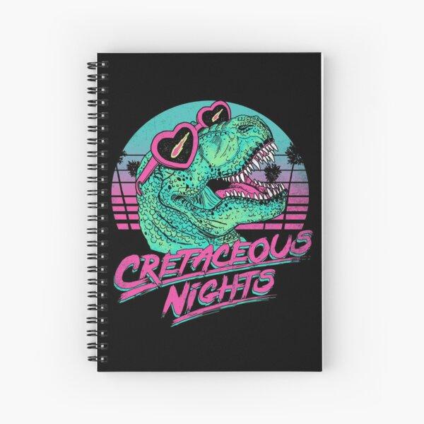 Cretaceous Nights Spiral Notebook