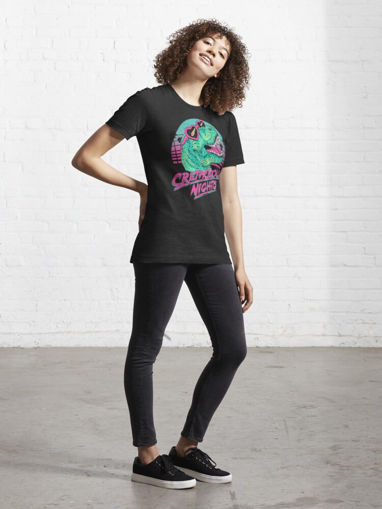 Alternate view of Cretaceous Nights Essential T-Shirt