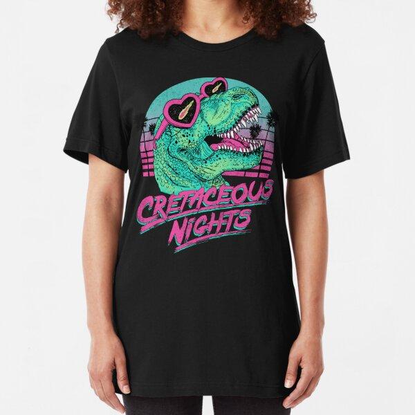 Cretaceous Nights Slim Fit T-Shirt