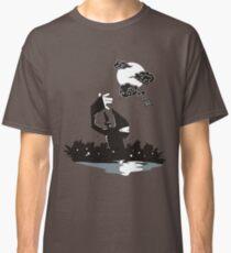 Surprise Ninja Attack on a Moonlit Night Classic T-Shirt