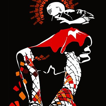 girl in a short red skirt by Netopir