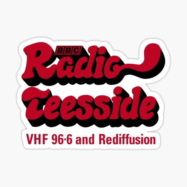 NDVH Radio Teesside Sticker