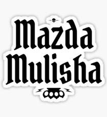 Mazda Mulisha Sticker