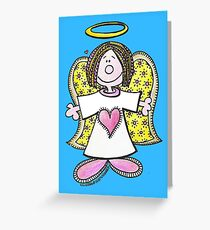 Hey Angel Baby! Greeting Card