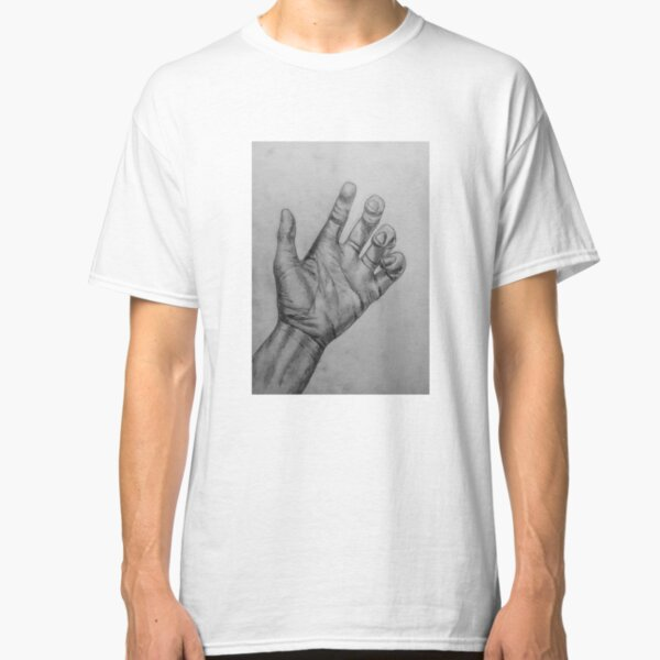 Meh with Hands Muscle Shirt