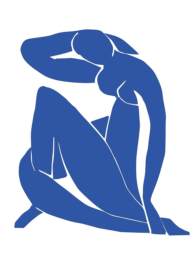 Henri Matisse - Blue Nude  by MaikeArts