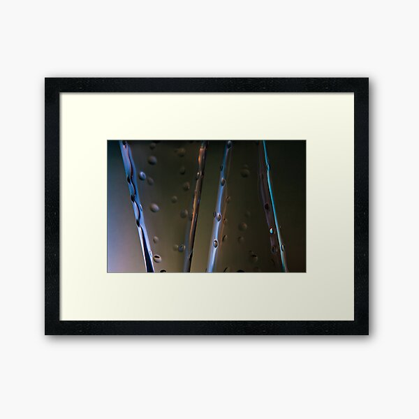 Ode to glass (12) Framed Art Print